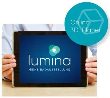 Lumina online 3D Badplaner