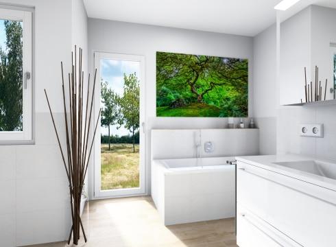 Modernes Badezimmer mit Komfort Plus Ausstattung