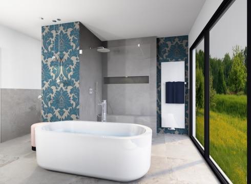 Modernes Badezimmer in Premium Plus Ausstattung