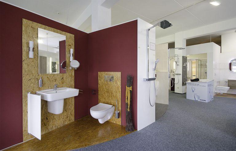Abbildung Lumina Badausstellung Beispiel Gäste WC