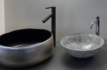 Abbildung design Waschbecken in der Lumina Badausstellung