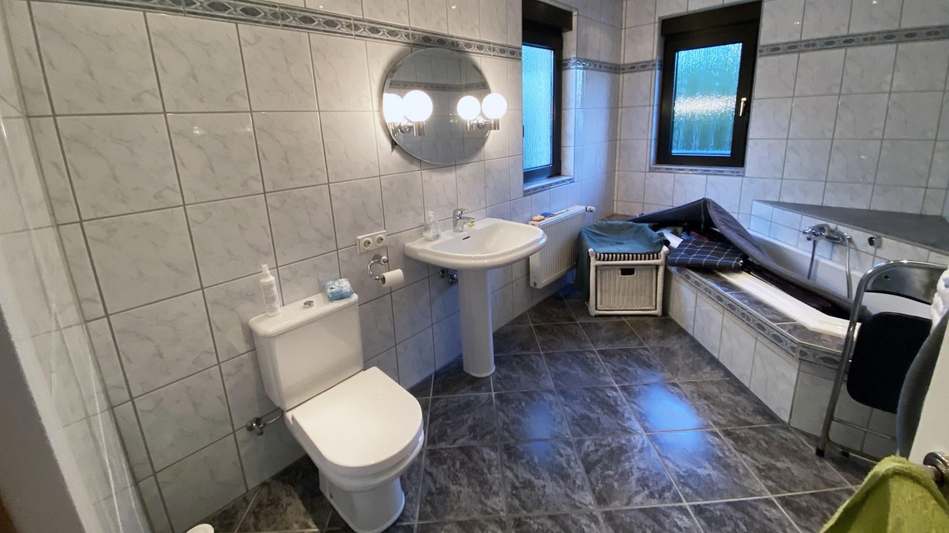 Badezimmer vor der Gestaltung durch Lumina