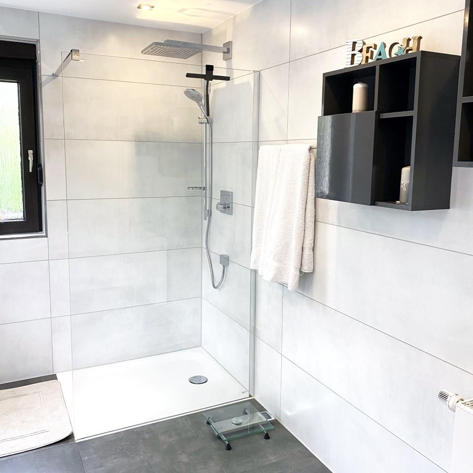 Bodengleiche Dusche für mehr Komfort