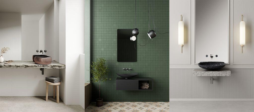 Collage Waschbecken von GlassDesign