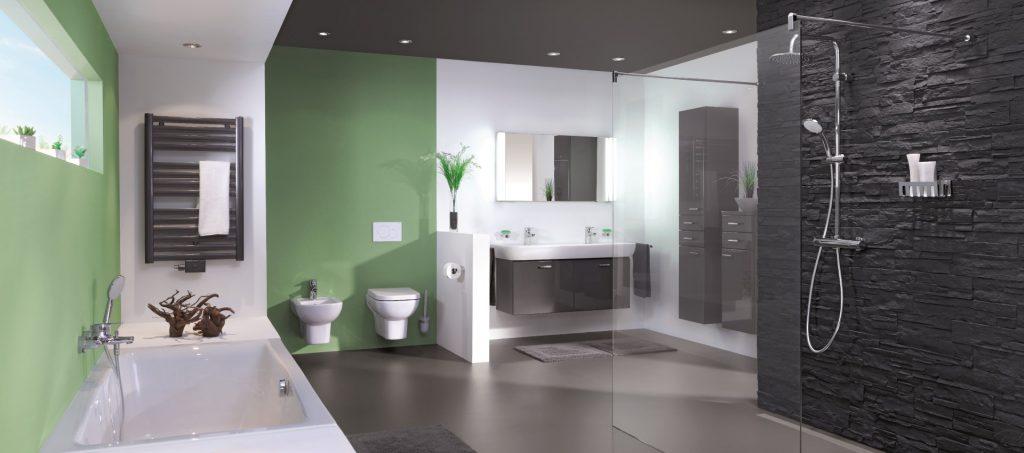 Abbildung Badezimmer mit Lumina Bad-Accessoires concept 200